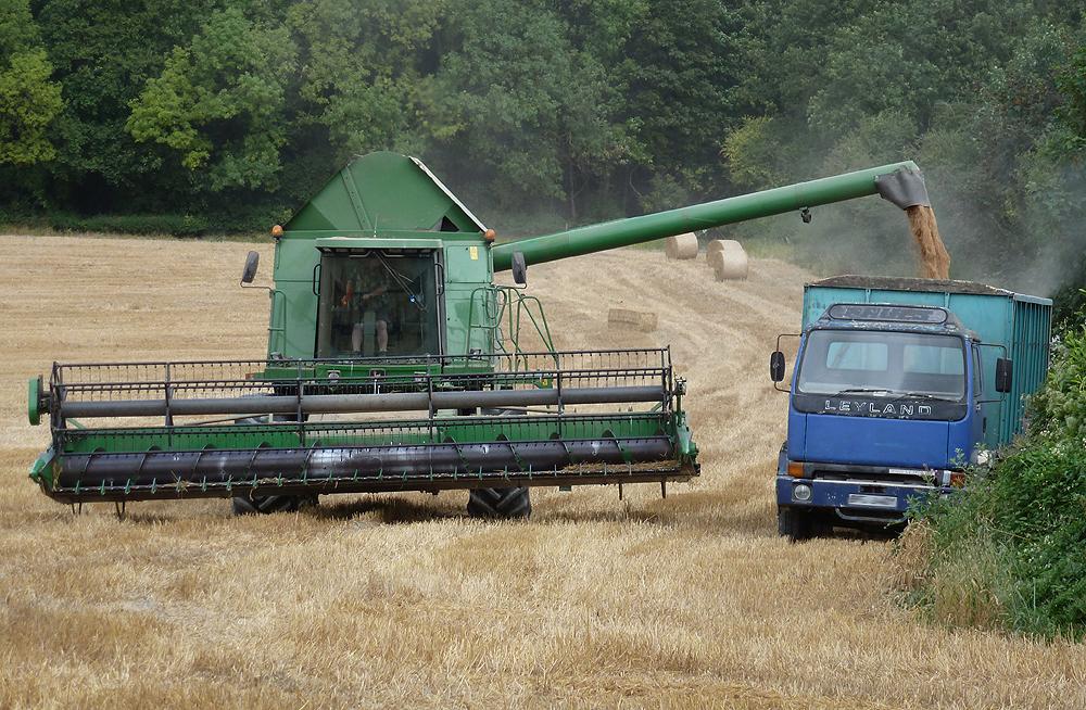 Combine Harvester Photos